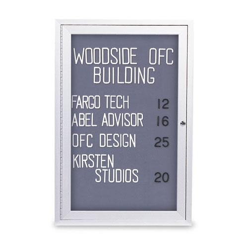 Indoor Enclosed Easy Tack Boards