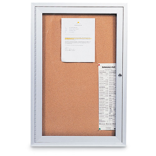 Indoor Enclosed Corkboards