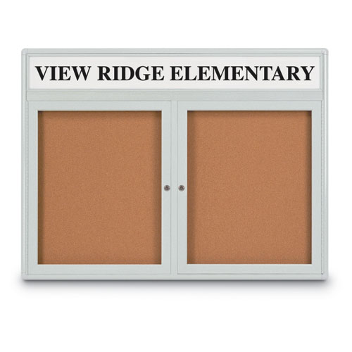 Indoor Radius and Square Style Corkboards