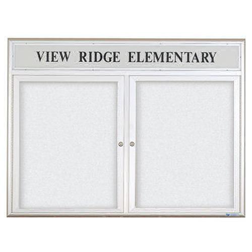 Indoor Enclosed Dry Erase Boards