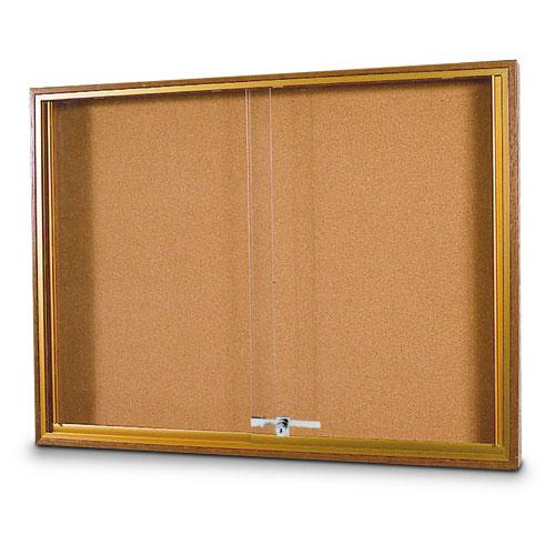 Wood Sliding Door Corkboards