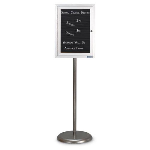 Enclosed Pedestal Letterboards