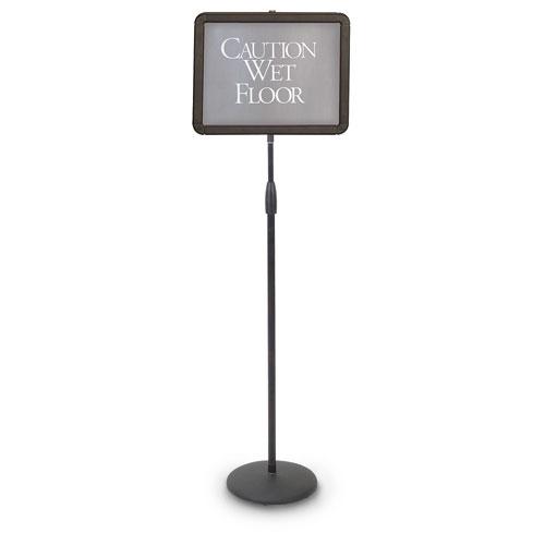 Adjustable Pedestal Sign Holders