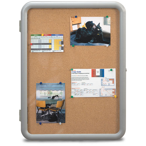 """Image"" Enclosed Corkboards"