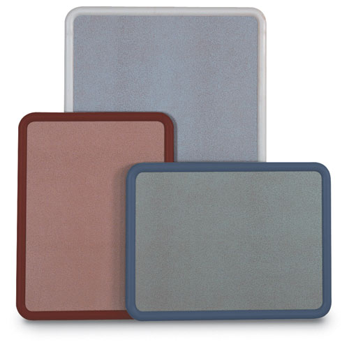 "Plastic Frame ""Image"" Open Colored Corkboards"