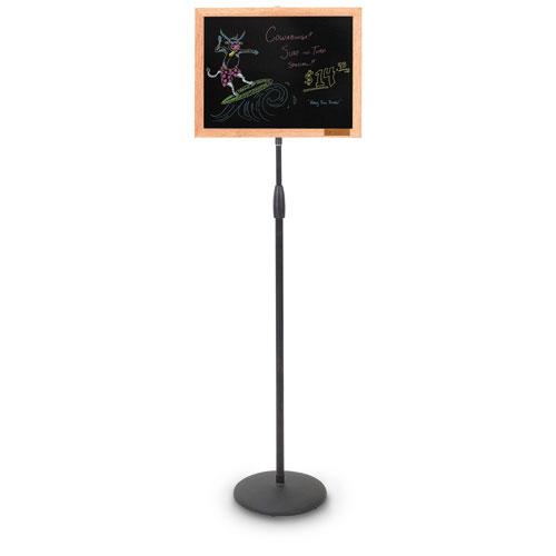 Black Dry Erase Pedestal Boards