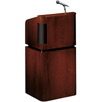 900 Series Wood Veneer Sound Floor Lectern