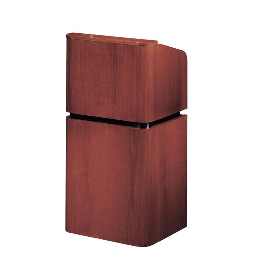 900 Series Wood Veneer Contemporary Floor Lectern