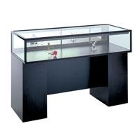 GL106 Laminate Sit Down Jewelry Display Case