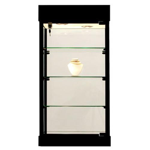 GL8 Laminate Rectangular Counter Top Display Case
