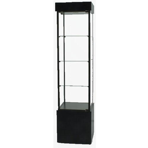 SFL900 Laminate Square Tower Display Case