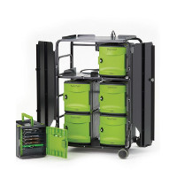 Tech Tub2 Premium Cart - holds 32 devices