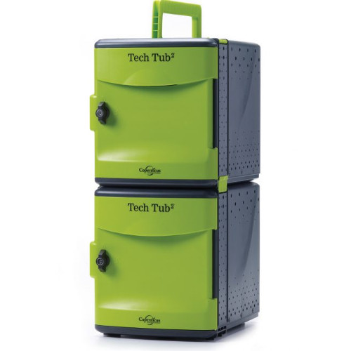 Premium Tech Tub2 with USB - holds 10 devices