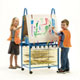 Primary Double Sided Art Easel