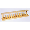 Wooden Test Tube Rack - 12 Place