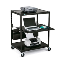 ECILS1-BK Mobile Projector Carts