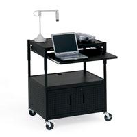 ECILS3-BK Cabinet Projector Carts