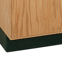 Rubber Base Molding for Base Cabinets