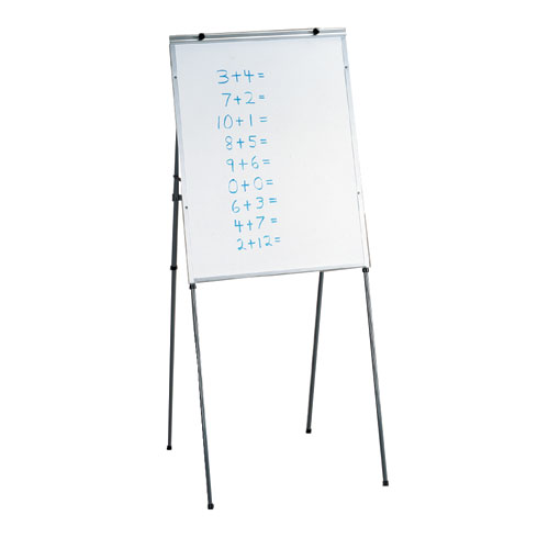 Adjustable Height Whiteboard Easels