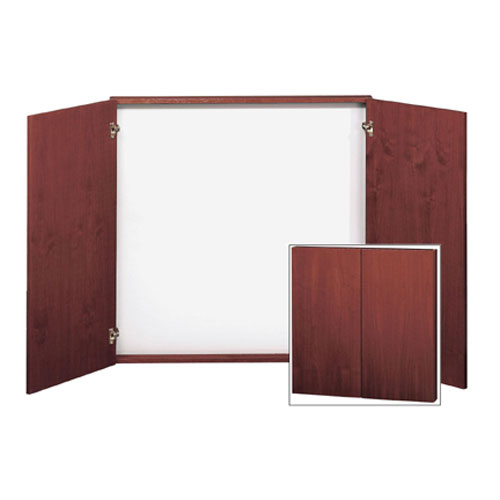 Challenger 1100 Series Aluminum Frame Display Case