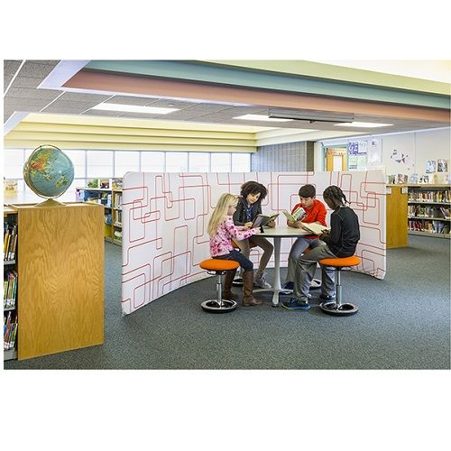 Adapt™ Configurable Space Divider, Swish