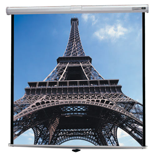 Da-Lite Deluxe Model B Tensioned Manual Projection Screen