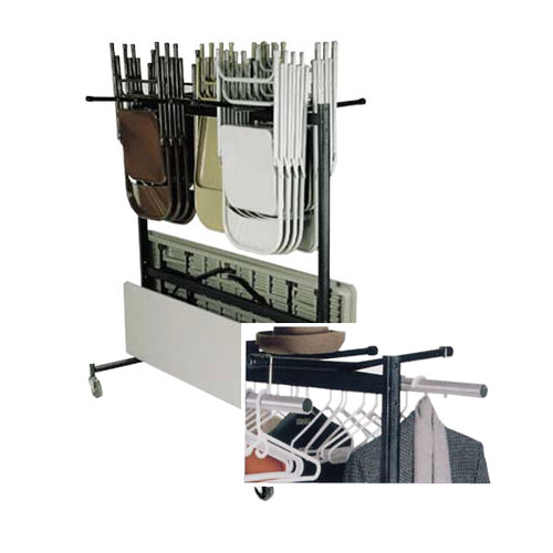 84 Series Combination Table/Chair/Coat Rack Caddy