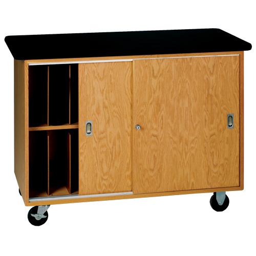 Mobile Laptop Storage Cabinet