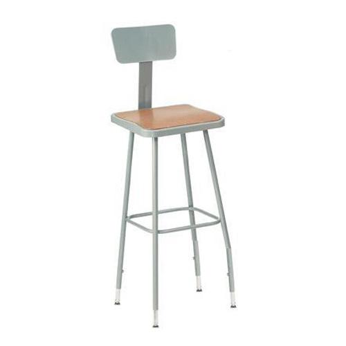 Wondrous 6300 Series Adjustable Heavy Duty Square Steel Lab Stool Machost Co Dining Chair Design Ideas Machostcouk