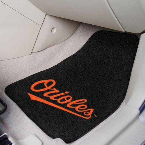 MLB 2-PC Printed Carpet Car Mat Set