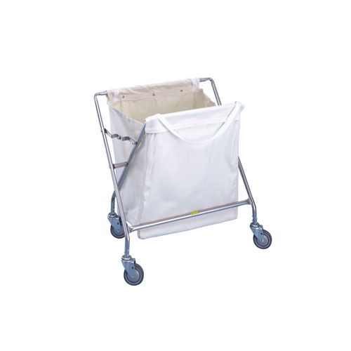 Collapsible Hamper with Canvas Bag