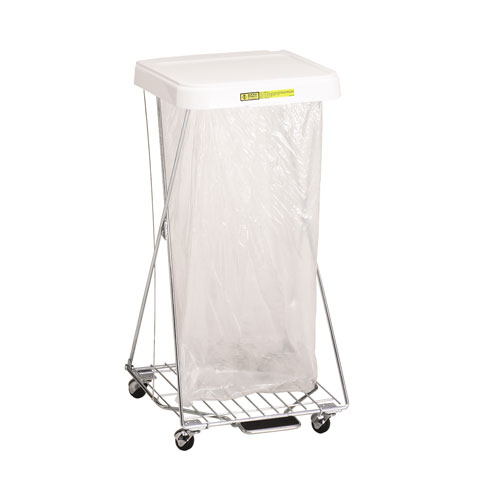 Single Wire Hamper Stand with Foot Pedal