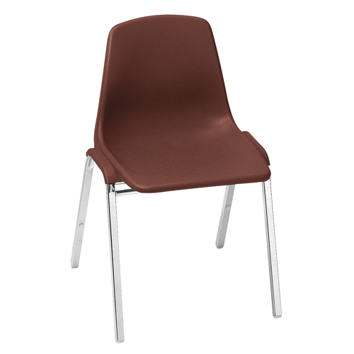 8100 Series Poly Shell Plastic Stack Chair