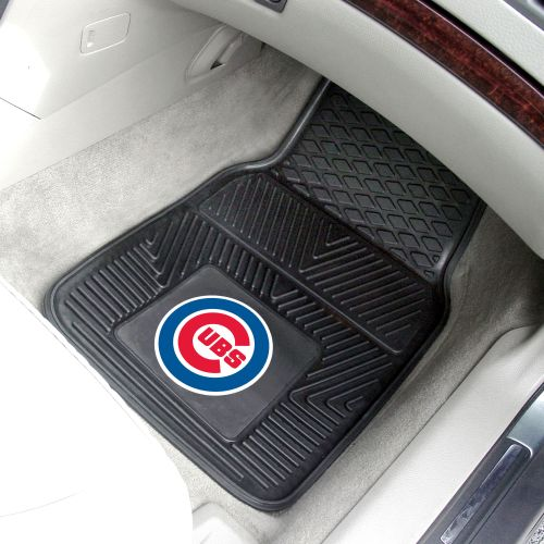 MLB 2-PC Heavy Duty Vinyl Car Mat Set