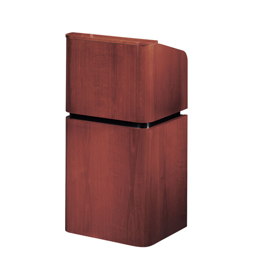 900 Series Wood Veneer Contemporary Floor Lectern