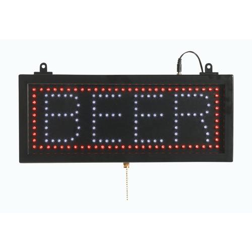 BEER - LED Window Sign