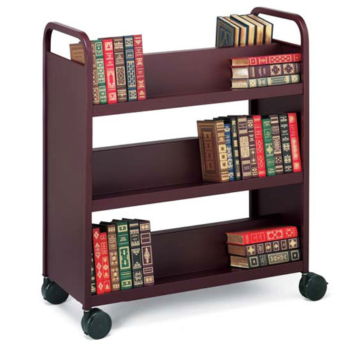 BOOV1 Double-Sided Book Trucks