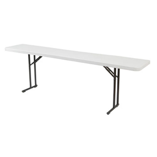 Blow-Molded Lightweight Folding Seminar Table