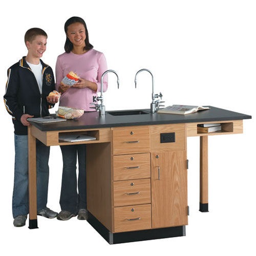 2 Student Science Lab Workstations