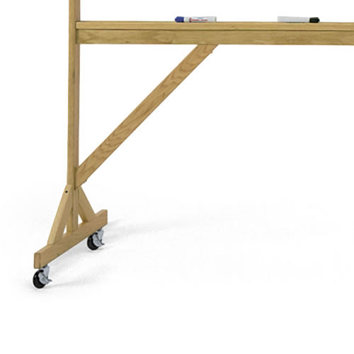 Casters for Wood-Framed Reversible Boards