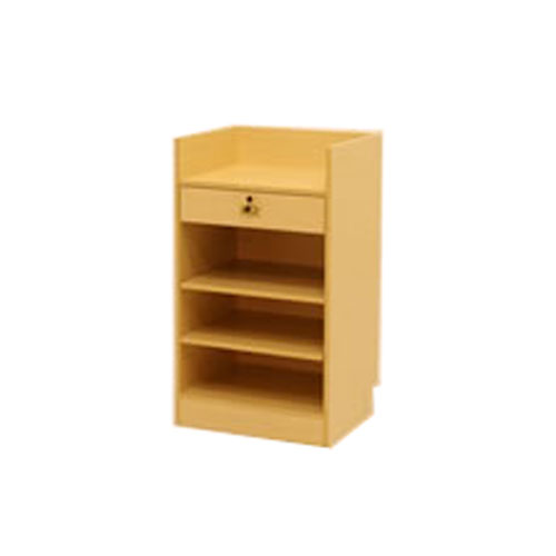 CC200 Wood Veneer Cash Wrap Cabinet