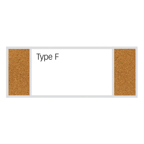 4'H Classroom Style Combination Boards
