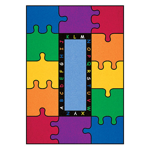 ABC Puzzle Rainbow Learning Carpets and Rugs