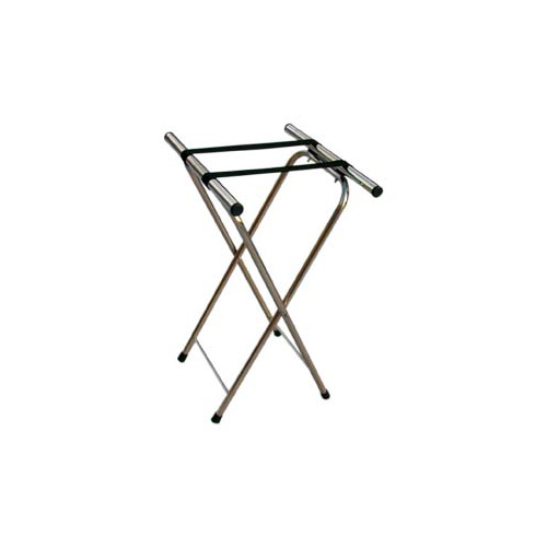 Chrome Folding Tray Stands