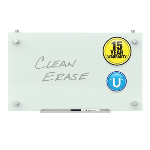 Infinity™ Magnetic Glass Dry-Erase Cubicle Mount Board