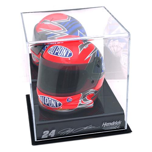 NASCAR Logo Mini Helmet Display Case