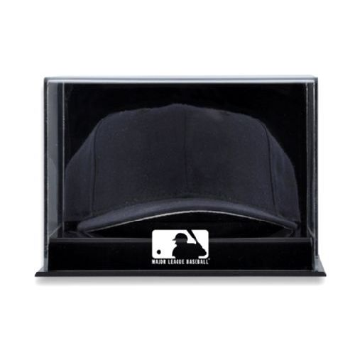 Acrylic Wall Mounted Cap Display Case with MLB Team Logo