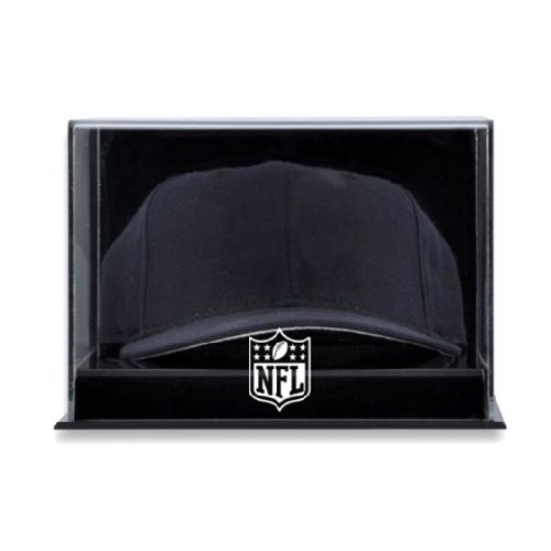 Acrylic Wall Mounted Cap Display Case with NFL Team Logo