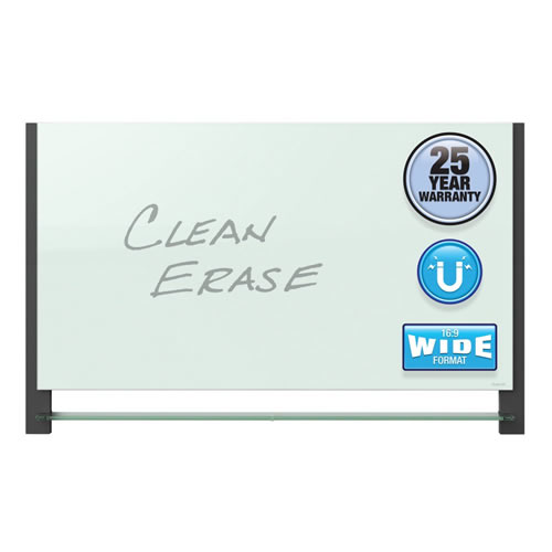 Evoque™ Magnetic Glass Dry-Erase Board