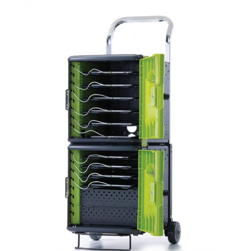 Tech Tub2 Trolley with syncing USB Hub - holds 10 devices